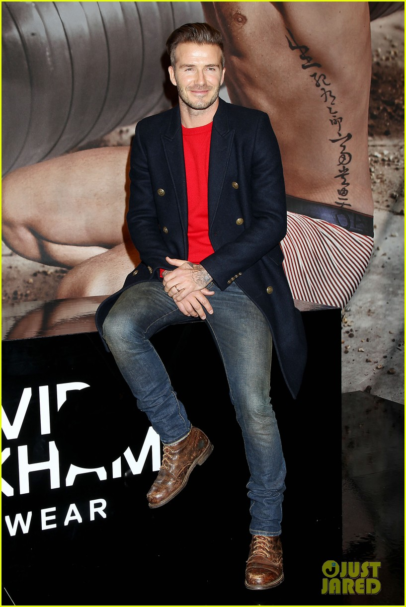 david beckham promotes hm body wear collection nyc 17