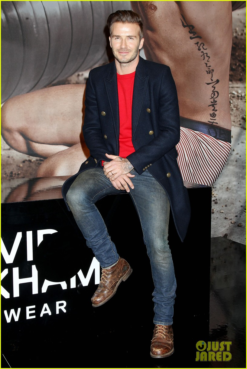 david beckham promotes hm body wear collection nyc 203045556