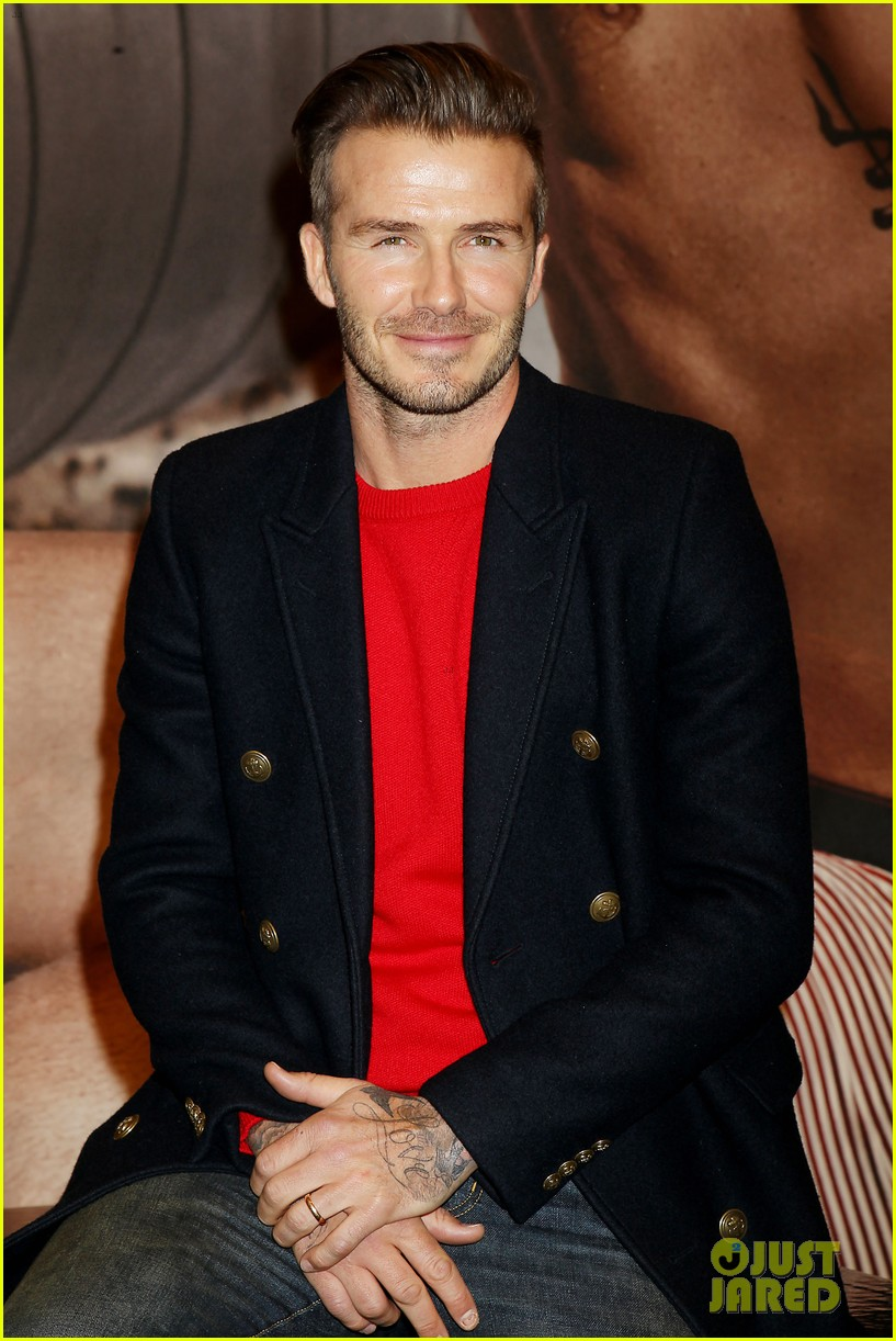 david beckham promotes hm body wear collection nyc 223045558