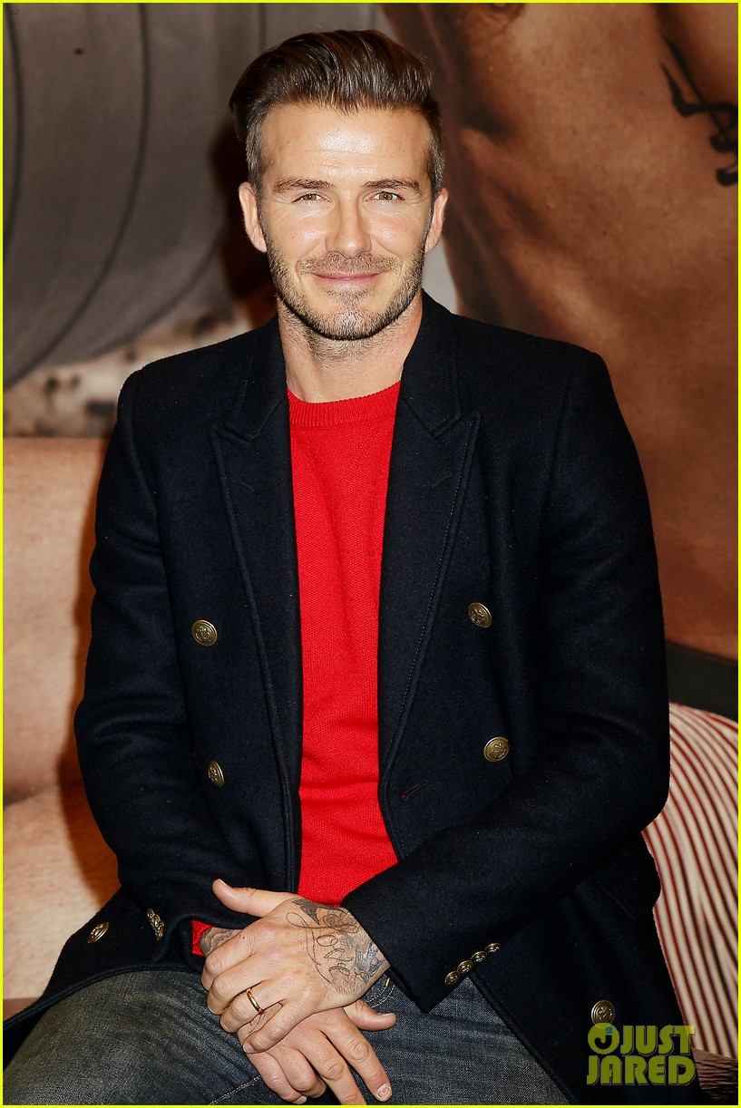 david beckham promotes hm body wear collection nyc 233045559