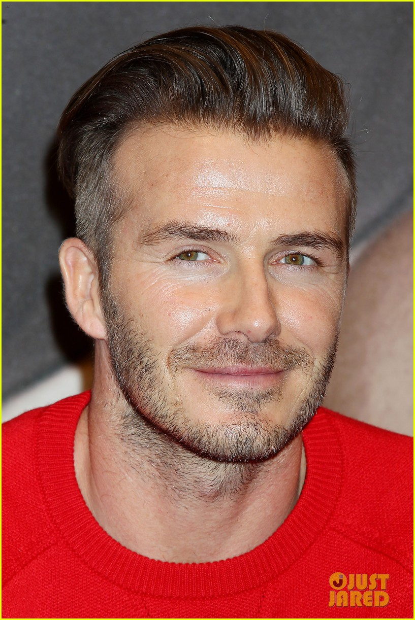david beckham promotes hm body wear collection nyc 333045569