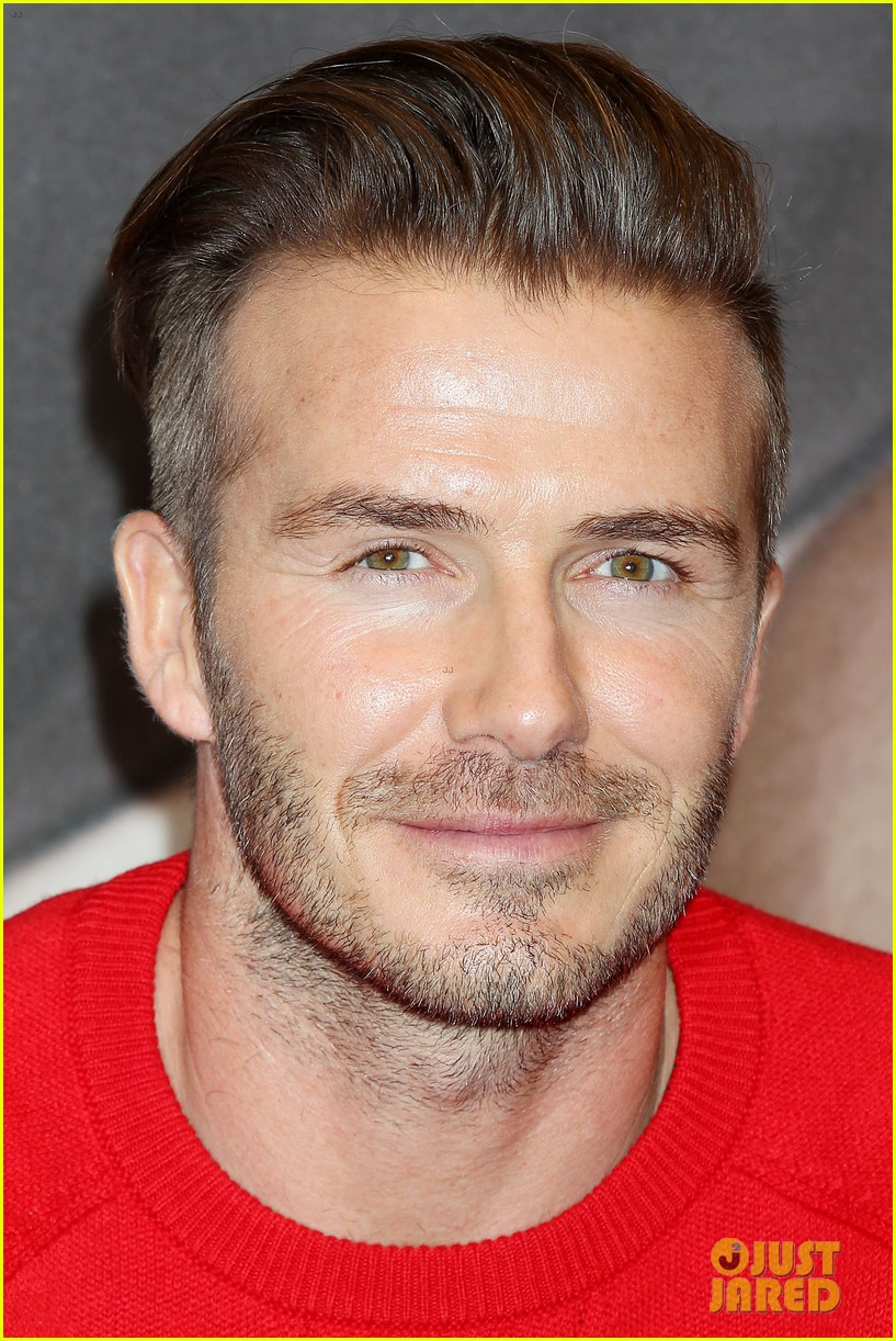 david beckham promotes hm body wear collection nyc 343045570