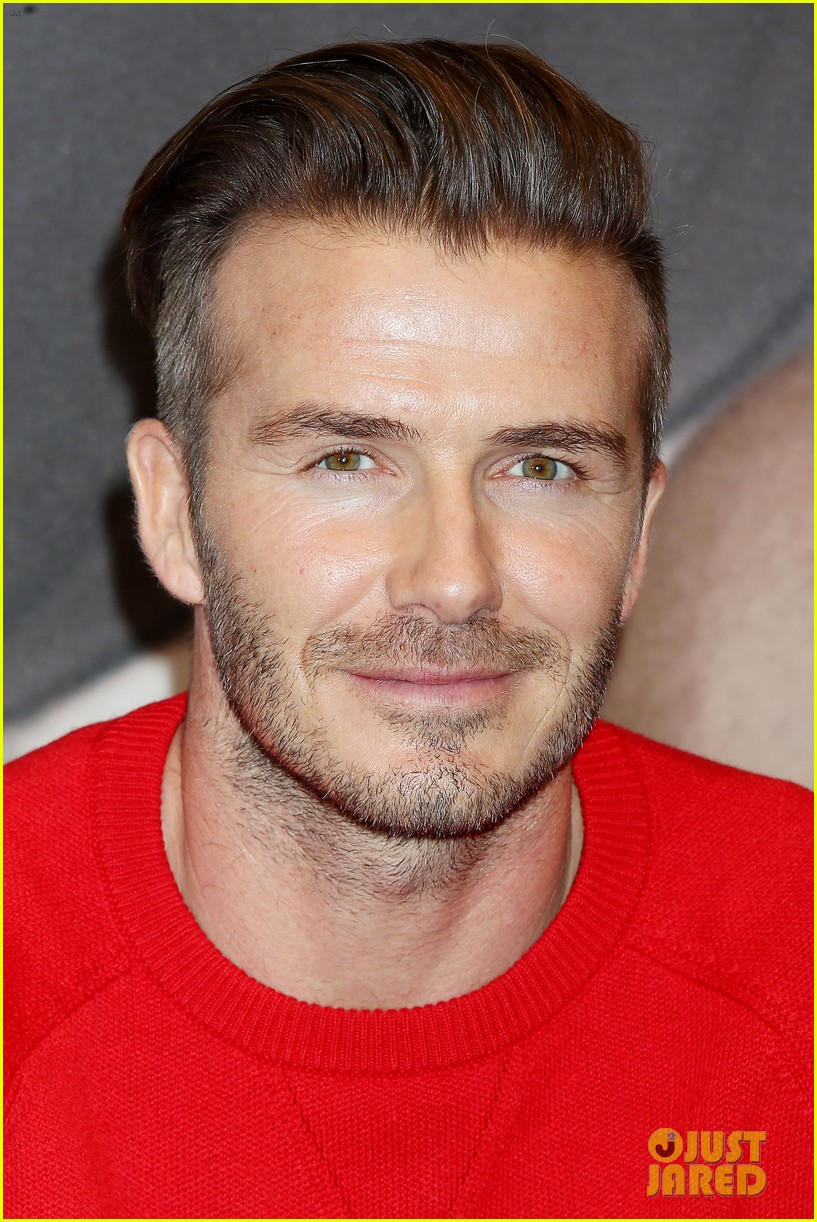 david beckham promotes hm body wear collection nyc 353045571