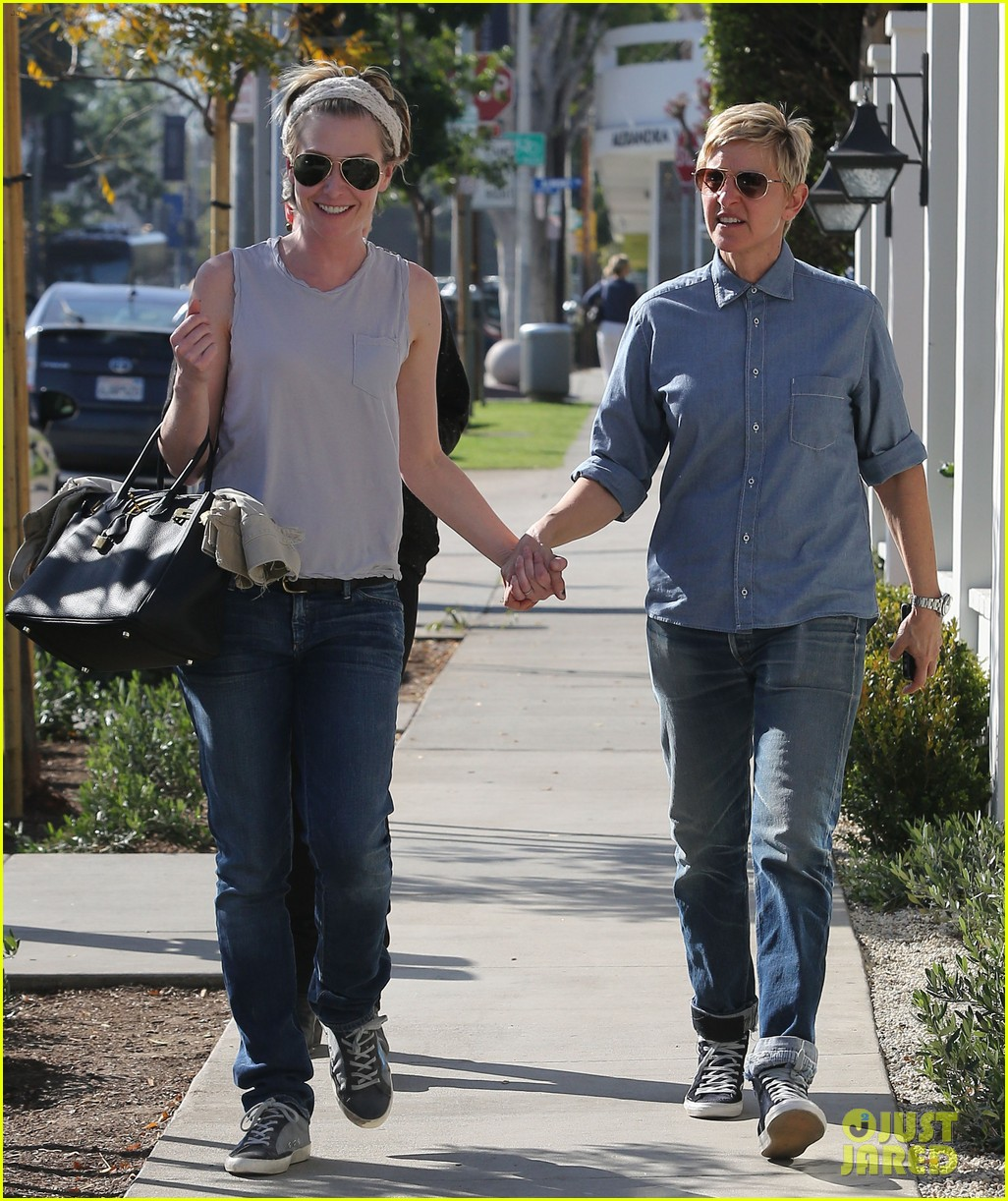 ellen degeneres portia de rossi were the cutest couple on valentines day 073054322