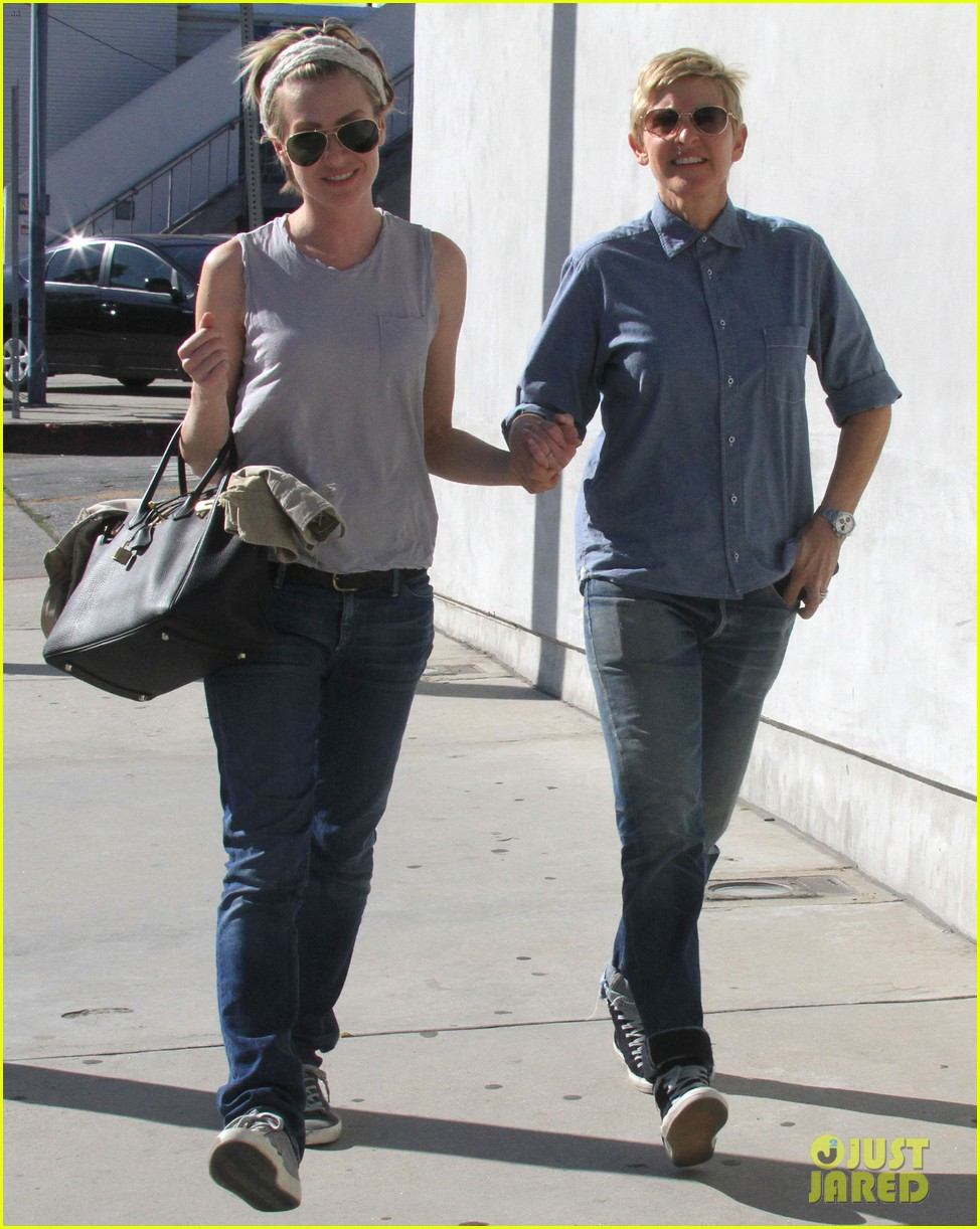 ellen degeneres portia de rossi were the cutest couple on valentines day 16