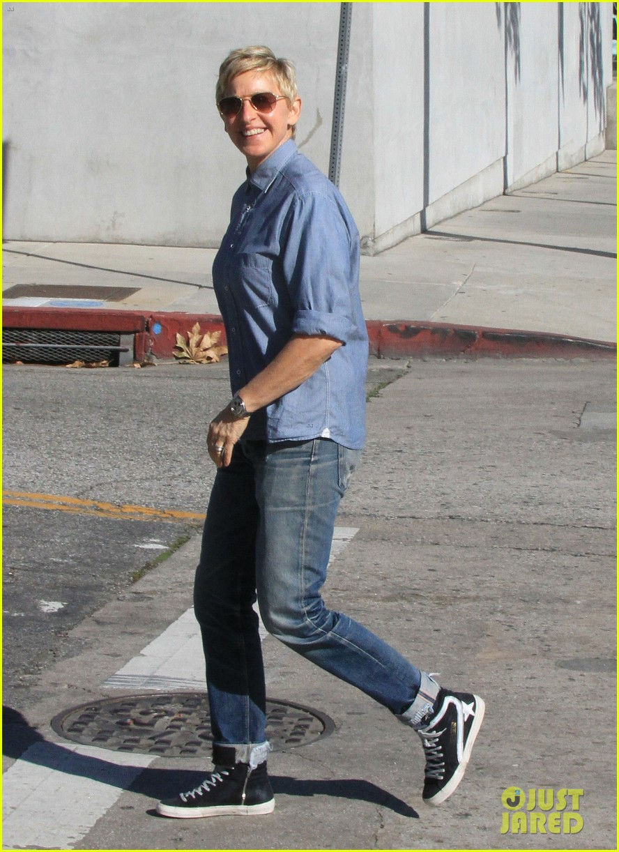 ellen degeneres portia de rossi were the cutest couple on valentines day 183054333