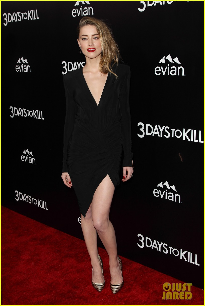 johnny depp supports amber heard at 3 days to kill premiere 15