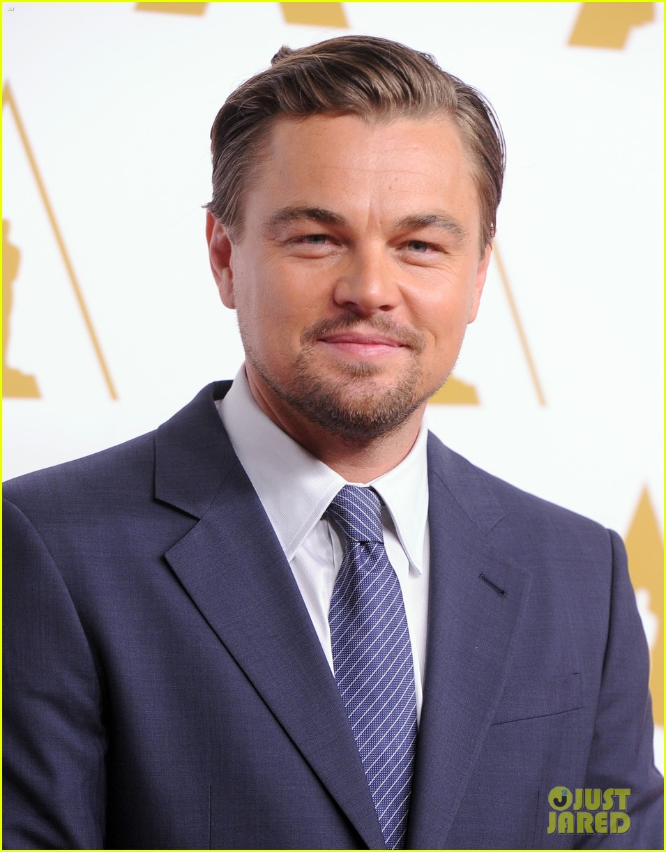 leonardo dicaprio jonah hill bring wall street to oscars nominees luncheon 2014 06