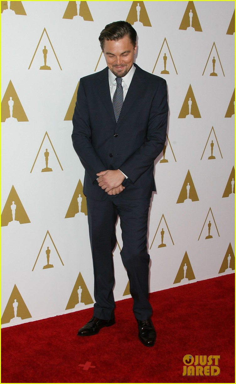 leonardo dicaprio jonah hill bring wall street to oscars nominees luncheon 2014 183050829