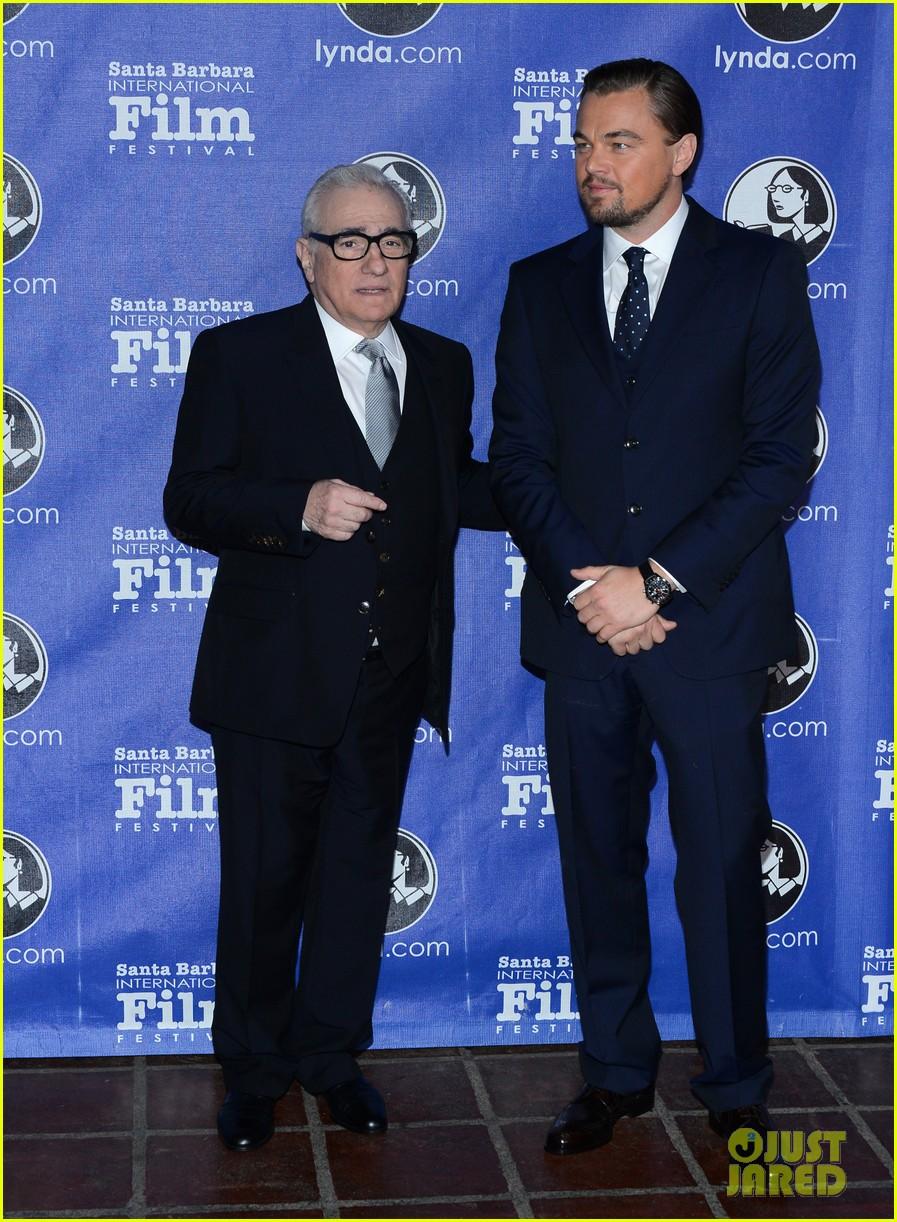 leonardo dicaprio suits up to receive cinema vanguard award 073048979