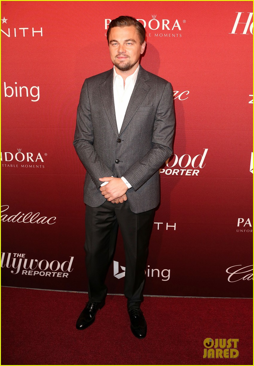 leonardo dicaprio thrs nominees night party 2014 01