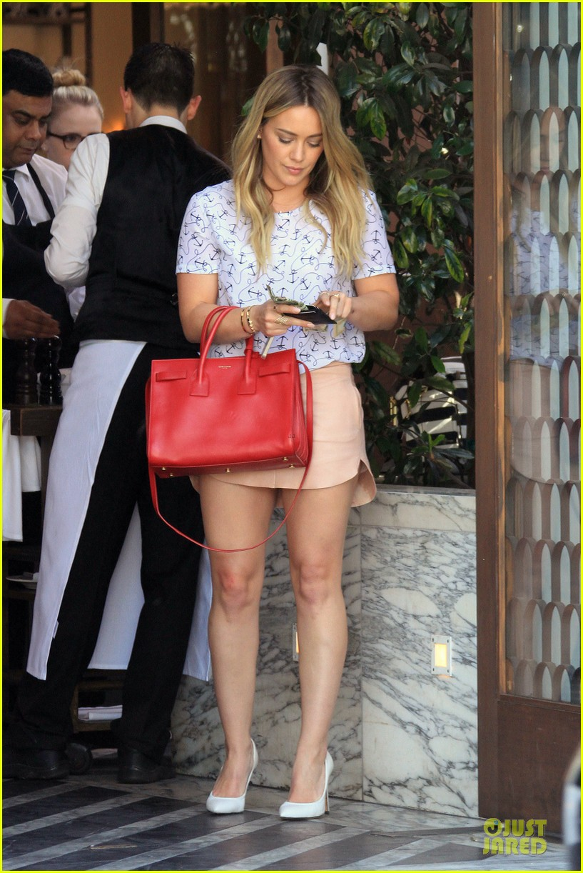 hilary duff groping allowed at cecconis 143058454