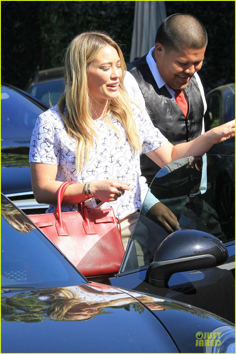 hilary duff groping allowed at cecconis 243058464