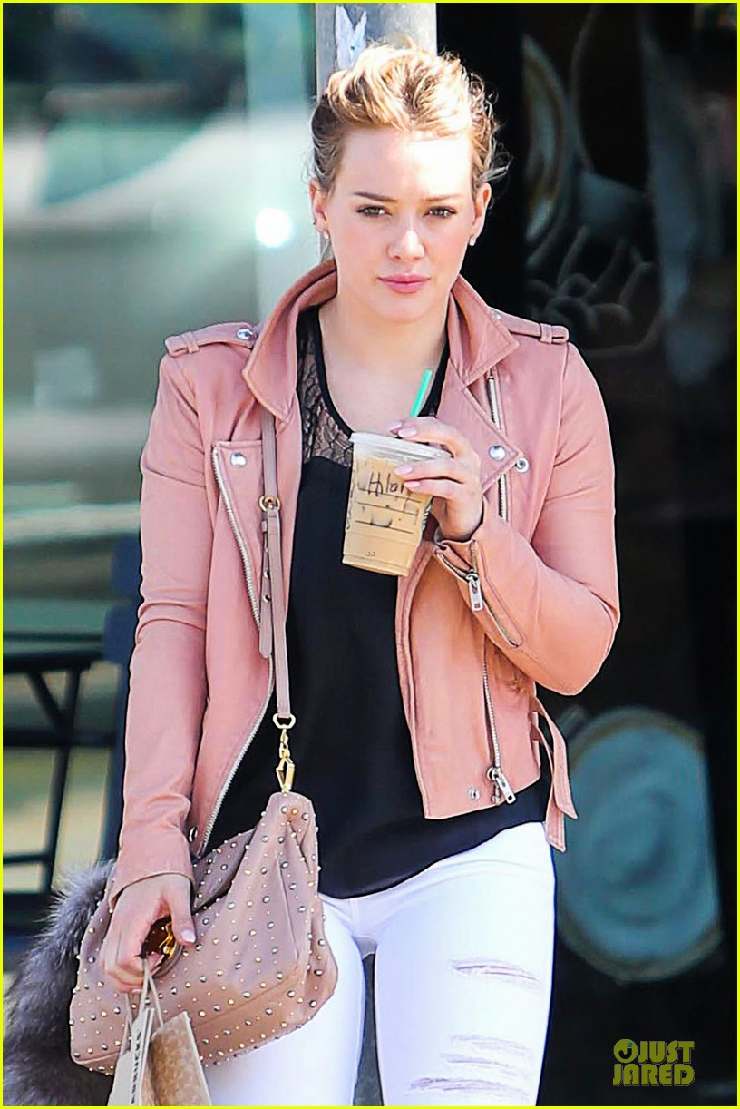 hilary duff rocks yellow for younger promo shoot 023060536