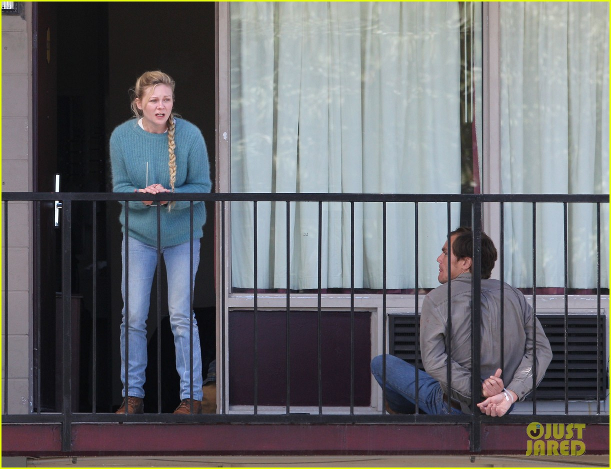 kirsten dunst michael shannon film bloody tearful midnight special scenes 143059176