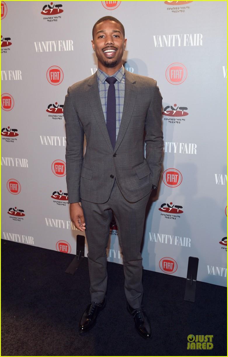 chris evans michael b jordan suit up at vanity fair young hollywood party 053060761