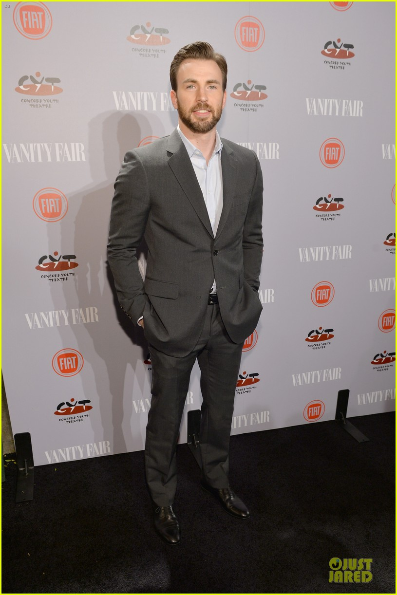 chris evans michael b jordan suit up at vanity fair young hollywood party 083060764