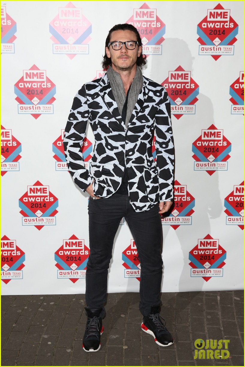 luke evans lily allen nme awards 2014 123061518