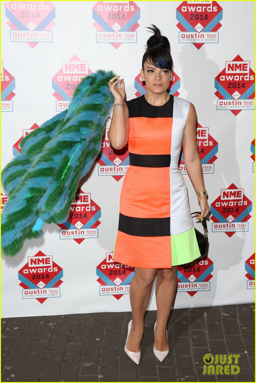 luke evans lily allen nme awards 2014 13