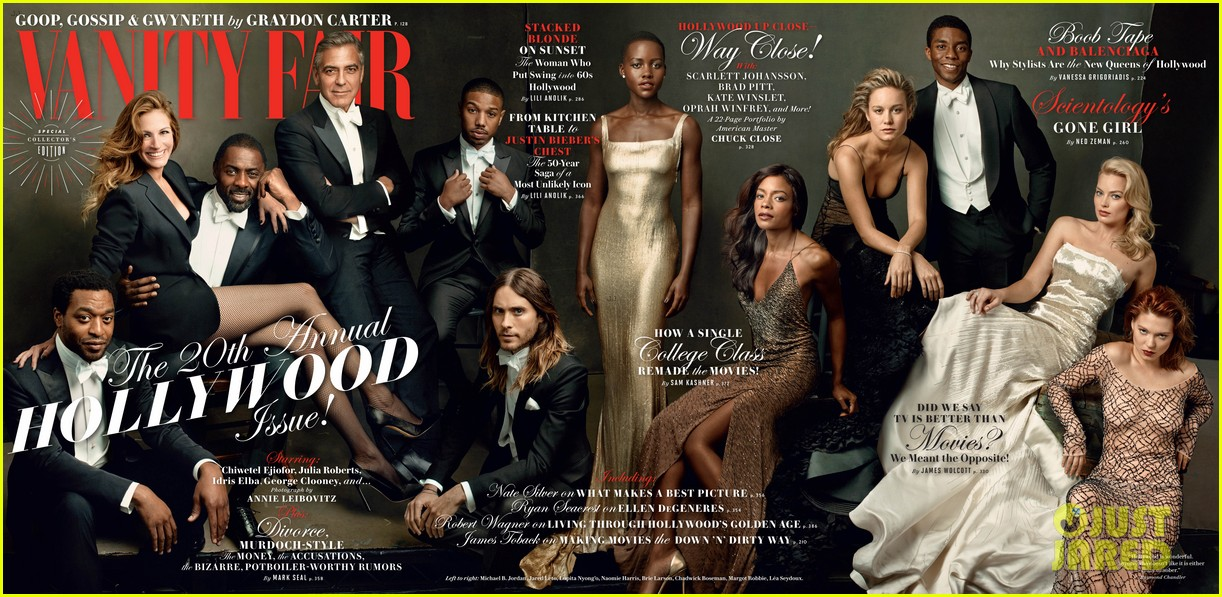 vanity fair releases star studded hollywood issue cover 043046937