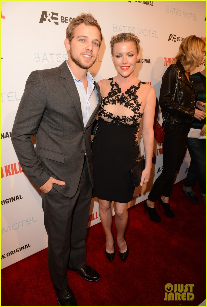 vera farmiga max thieriot celebrate bates motel season 2 04