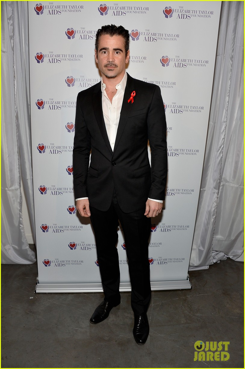 katharine mcphee colin farrell elizabeth taylor aids foundation art auction 013062292