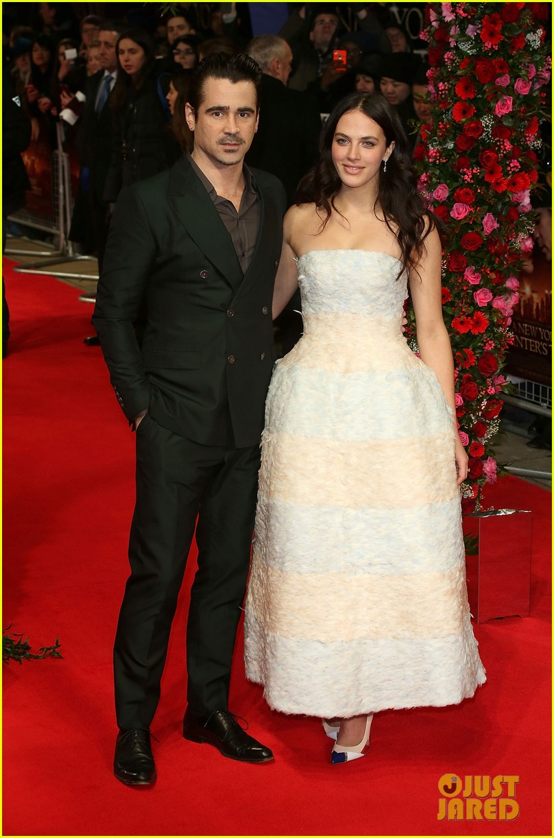 colin farrell jessica brown findlay bring winters tale to the uk 073052889