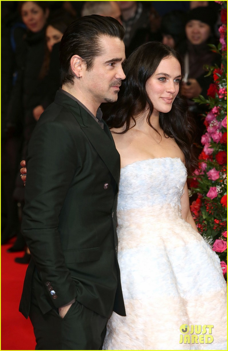 colin farrell jessica brown findlay bring winters tale to the uk 113052893
