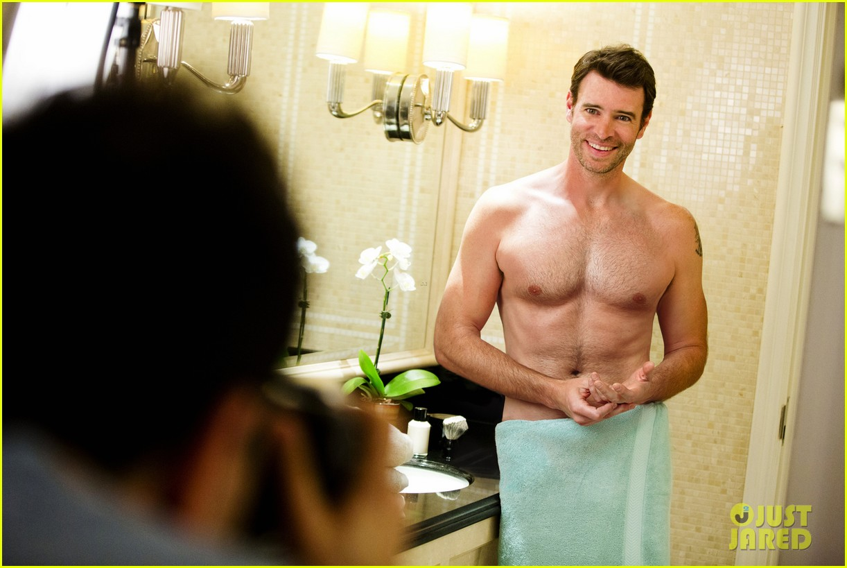 scott foley is super hunky goes shirtless in a towel for charisma 083060331