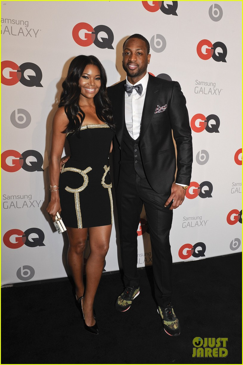 gabrielle union dwyane wade gq nba all star party with lebron james 013054359