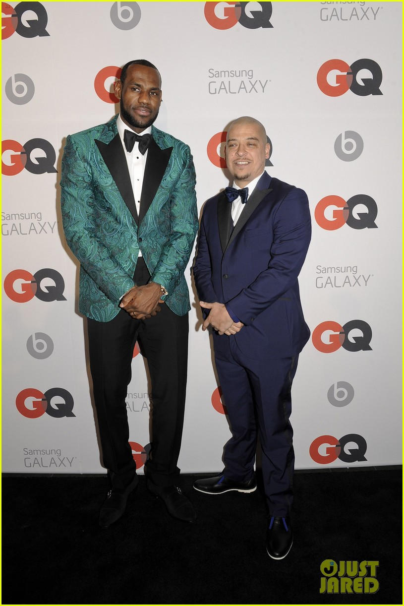 gabrielle union dwyane wade gq nba all star party with lebron james 103054368