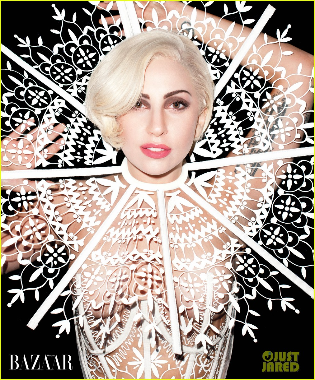 lady gaga covers harpers bazaar march 2014 023047898