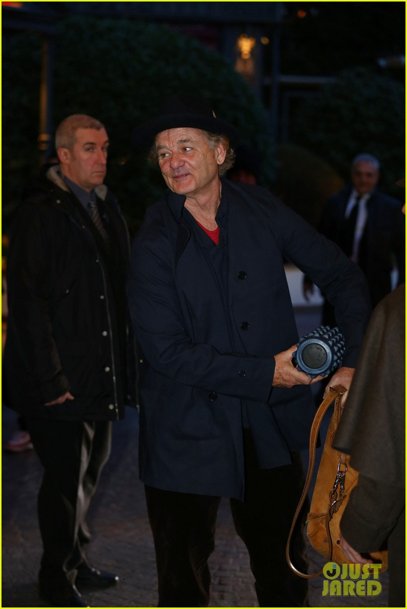 george clooney matt damon arrive in milan ahead of monuments men premiere 033050221