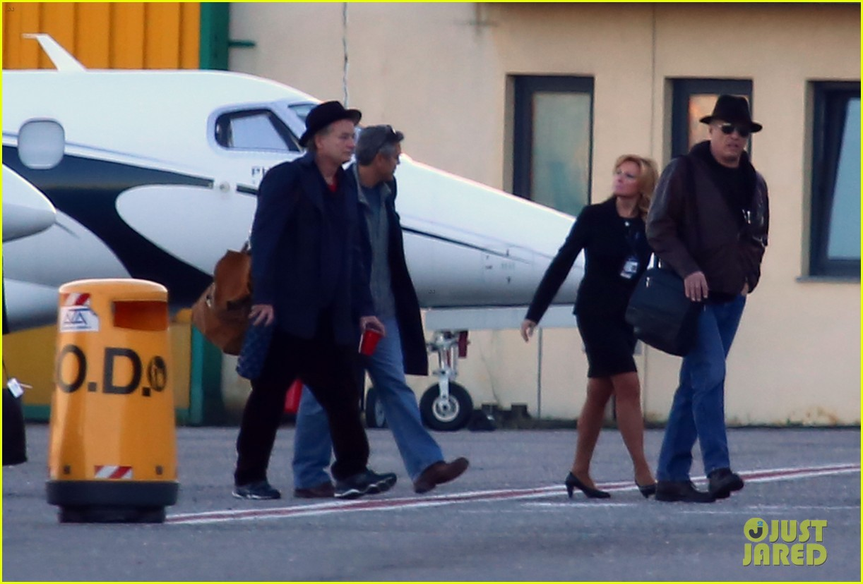 george clooney matt damon arrive in milan ahead of monuments men premiere 063050224
