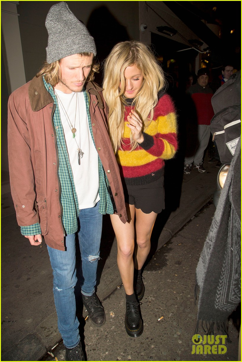 ellie goulding rumored boyfriend dougie poynter step out together 04a3062220