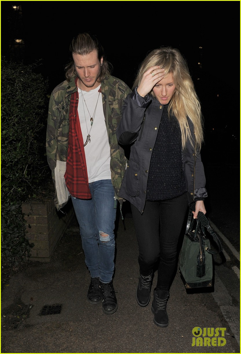 ellie goulding rumored boyfriend dougie poynter step out together 053062221