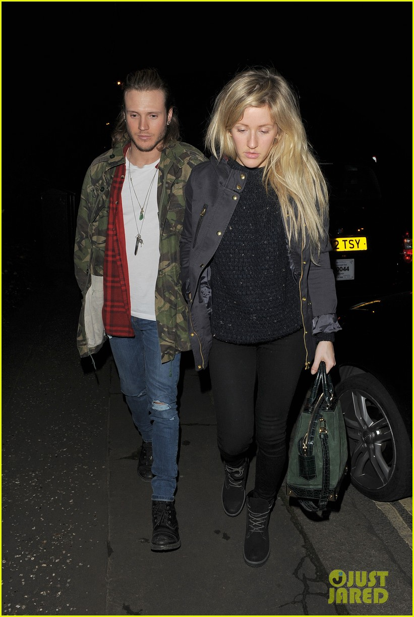 ellie goulding rumored boyfriend dougie poynter step out together 073062223