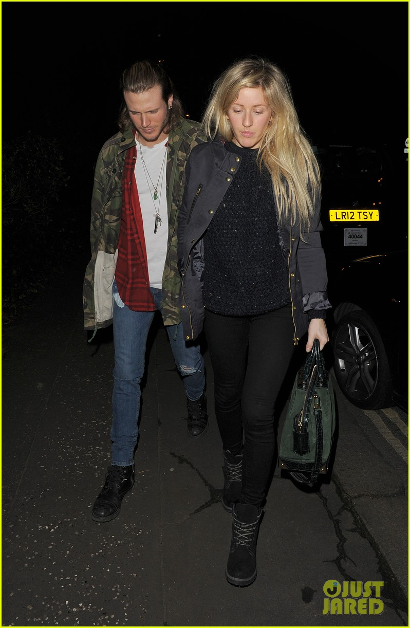 ellie goulding rumored boyfriend dougie poynter step out together 093062225