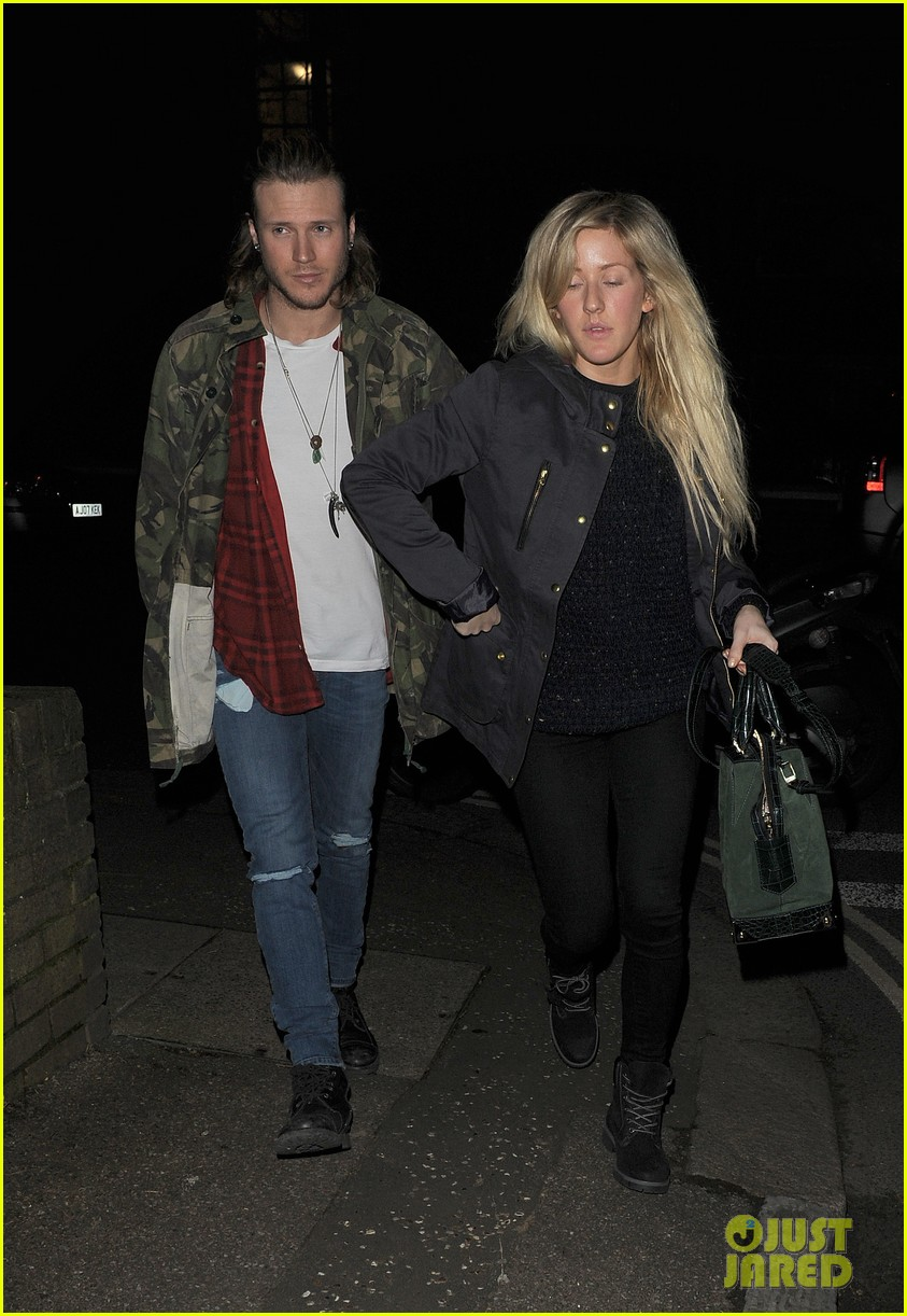 ellie goulding rumored boyfriend dougie poynter step out together 103062226