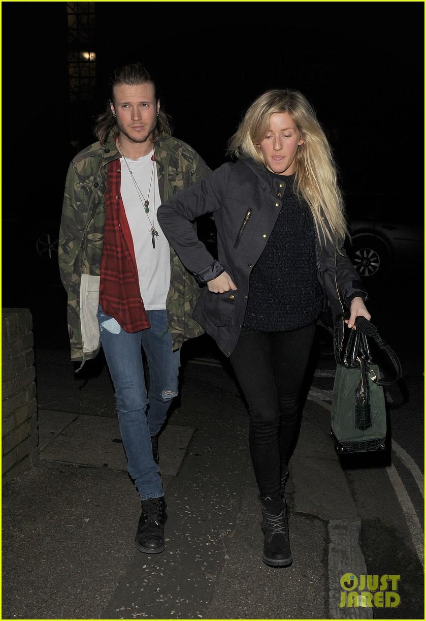 ellie goulding rumored boyfriend dougie poynter step out together 113062227
