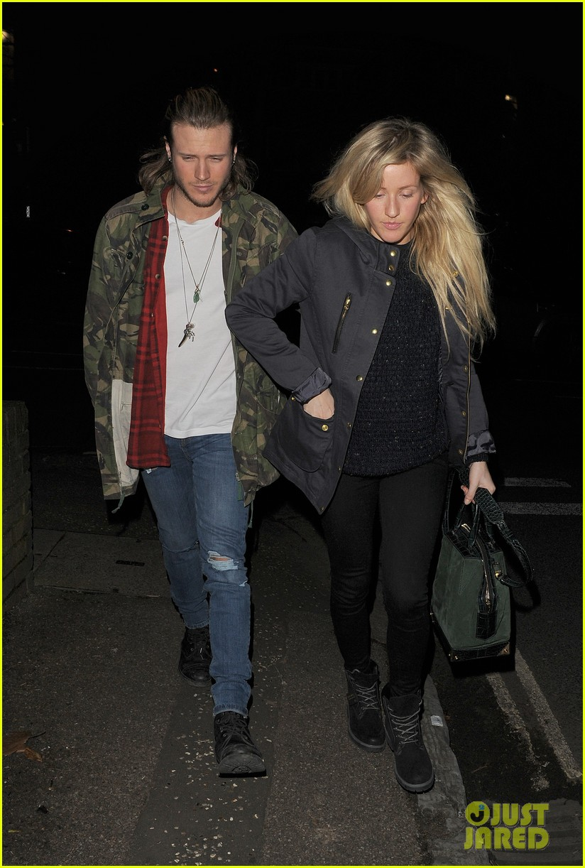 ellie goulding rumored boyfriend dougie poynter step out together 123062228