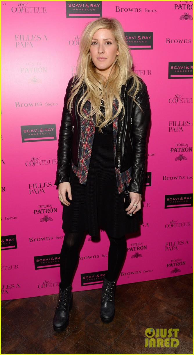 ellie goulding london fashion week party with pixie lott 02