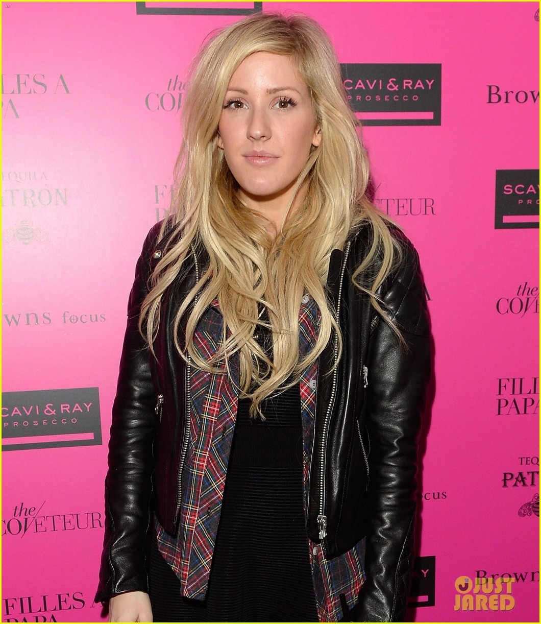ellie goulding london fashion week party with pixie lott 053055501