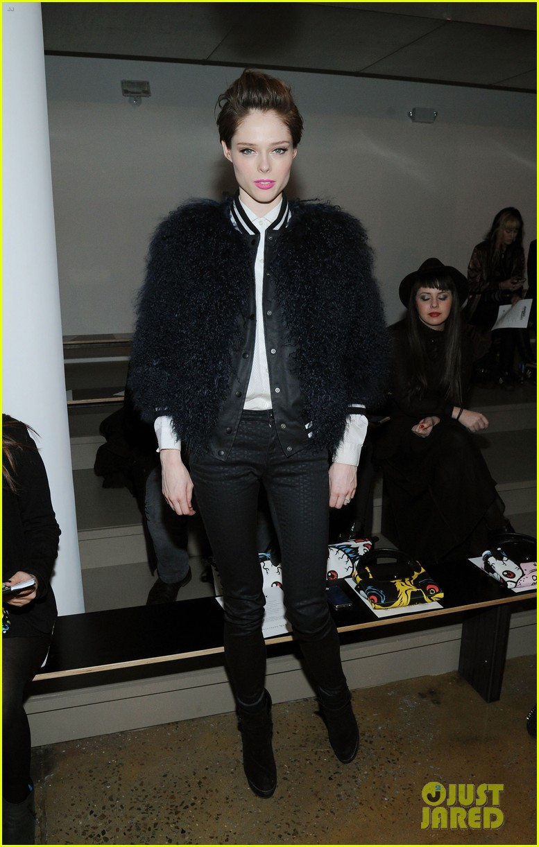 kat graham allsaints jeremy scott fashion shows 10