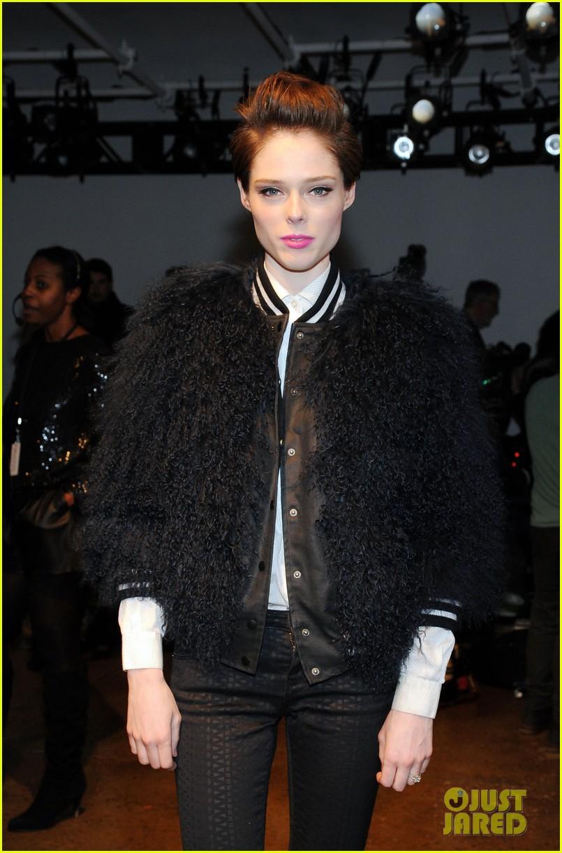 kat graham allsaints jeremy scott fashion shows 133052271