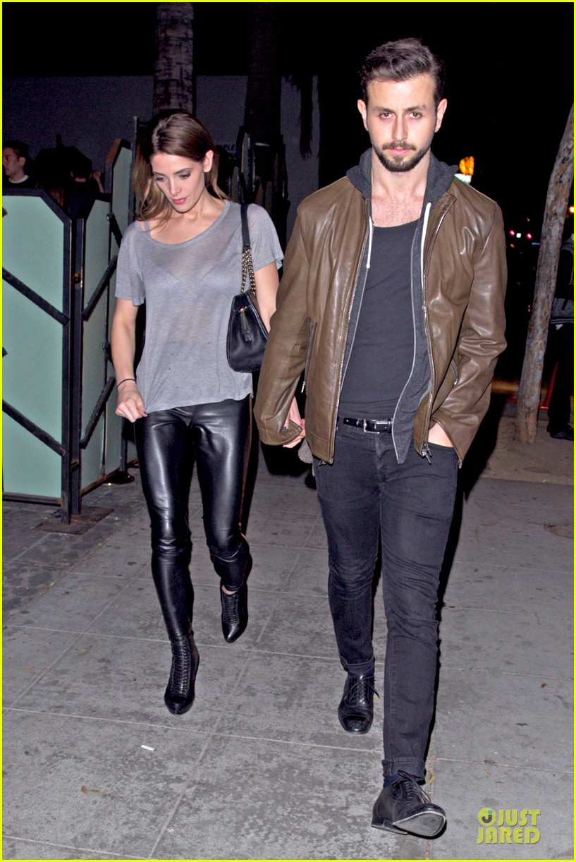 ashley greene 27th birthday celebration with beau paul khoury kellan lutz 01