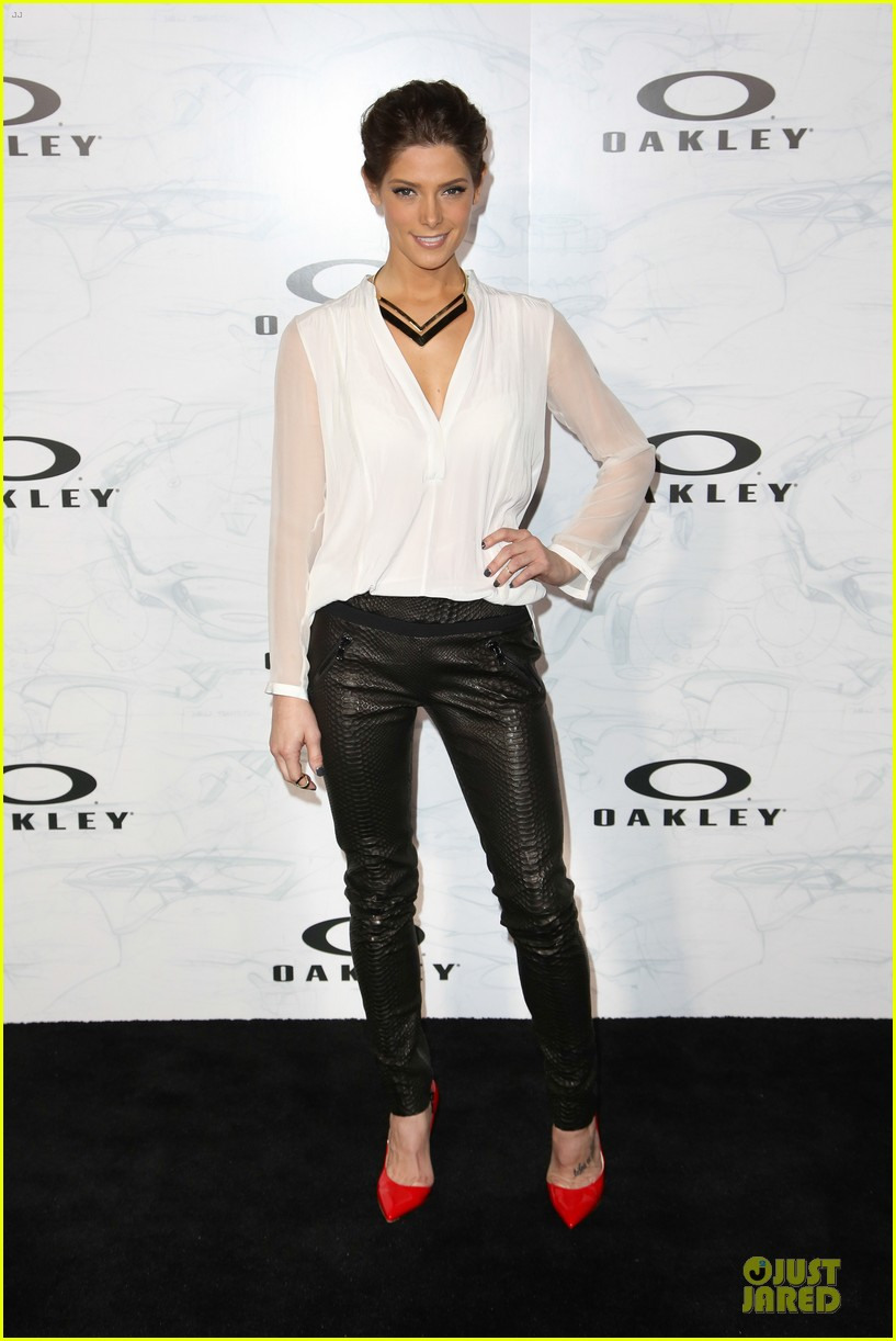 ashley greene kelly osbourne oakley disruptive by design campaign launch 053060153