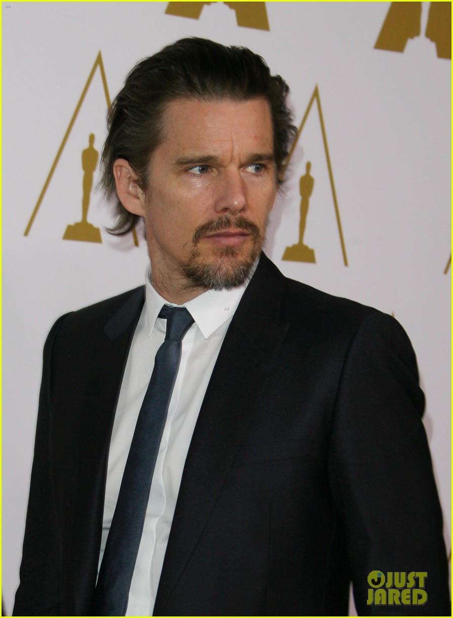 ethan hawke julie delpy oscars nominees luncheon 2014 023050849