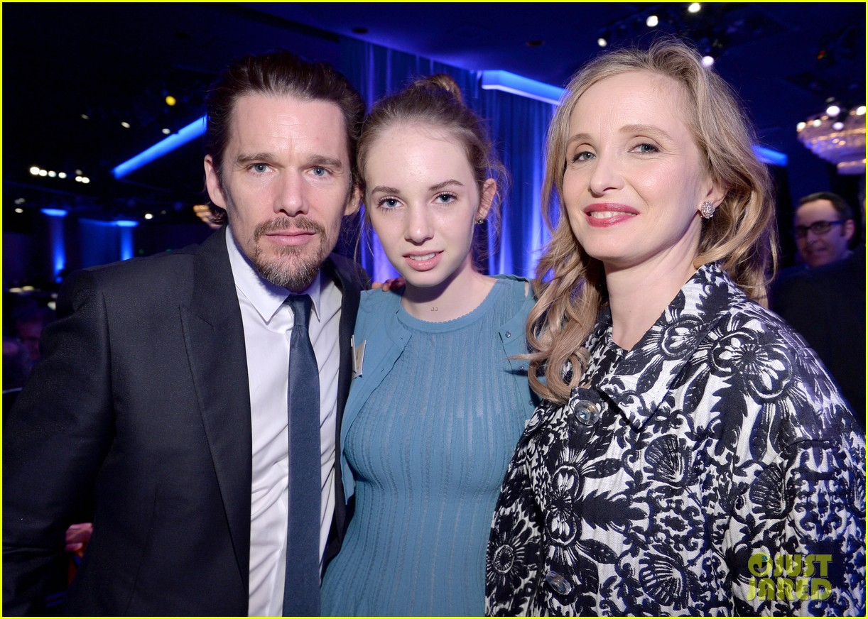 ethan hawke julie delpy oscars nominees luncheon 2014 043050851