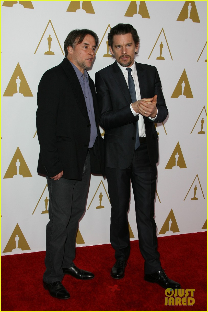ethan hawke julie delpy oscars nominees luncheon 2014 053050852